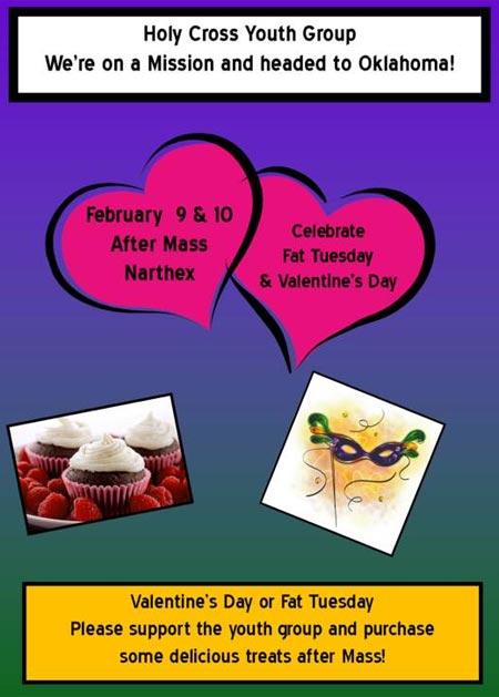 Bake Sale 2013 - Feb 9 & 10 after Holy Cross Mass