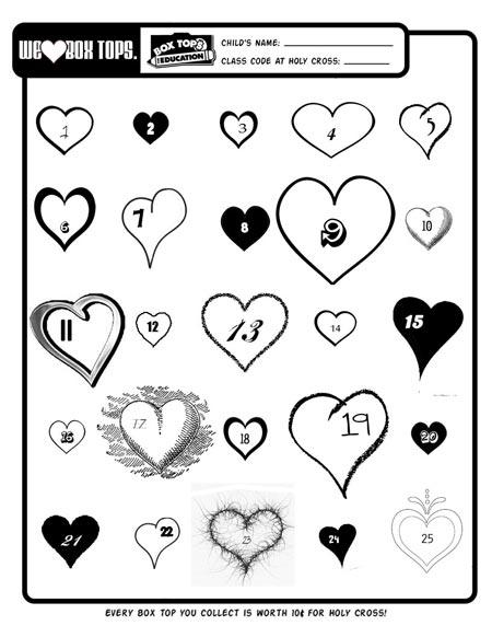 We Heart Box Tops Holy Cross Catholic School Blog