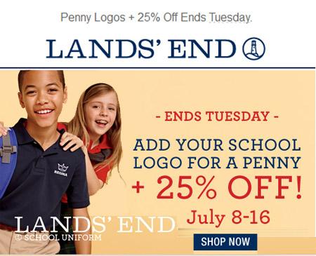 1c683ec5b38 Lands' End Uniform Sale | Holy Cross Catholic School Blog